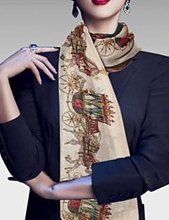 Flor/Polyester - Sjaler ( Flerfarvet