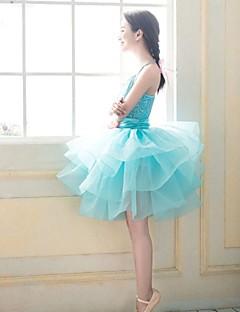 Budeme balet ženy šifon / polyester výkonu / školení princezna popruh šaty