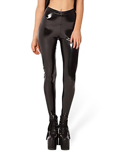 Middel - Solide Kleuren - LEGGINGS ( PU )