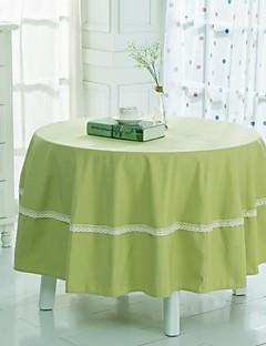 """vert nappe ronde avec crochet, polyester dia. 180cm (71 """"), 200cm (80"""")"""