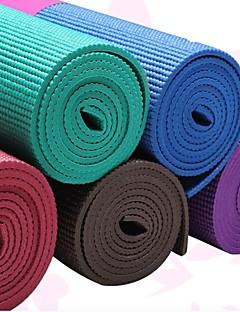 Yoga Mats ( Rood/Blauw/Koffie/Donker Paars/Hemelsblauw , PVC )