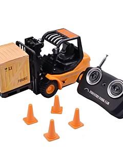 mini desktop 3-ch brinquedo empilhadeira engenharia de controle remoto por rádio