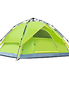 AOTU Outdoor 3-4 Persons   Waterproof Fold Tent Automatic Camping Tent  Free  Building