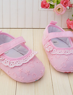 Baby Shoes Wedding/Dress/Casual Fabric Flats Pink