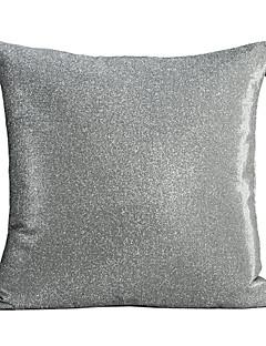 couverture élégante moderne de coussin décoratif argent
