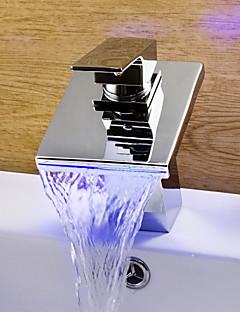 phasat® rozšířený singl rukojeť jeden otvor s chromovým koupelna Umyvadlová baterie