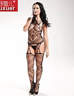 Feminino Roupa de Noite Ultra Sexy Feminino Nylon