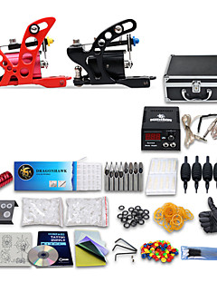 Tattoo Kits 2 New Machine Gun Power Needles 40 Ink