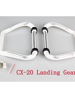 cx-20 del tren de aterrizaje de repuesto parte 1 set / 2pcs para cx 20 cx-20-019