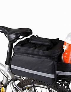 Bike Bag 8LPanniers & Rack Trunk / Shoulder Bag Compact / Multifunctional Bicycle Bag Canvas Cycle Bag Camping & Hiking / Cycling/Bike
