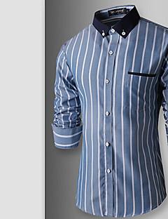 MEN - 빈티지/캐쥬얼/파티/회사 긴소매 - 캐쥬얼 셔츠 ( 면/레이온 )