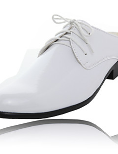 Men's Shoes Wedding/Office & Career/Party & Evening Leather Clogs & Mules Black/Blue/Yellow/Green/Red/White/Orange