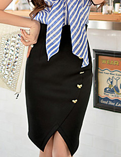 Women's Bodycon/Work Skirts (Elastic/Polyester)