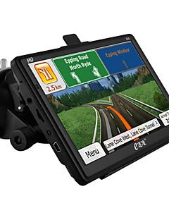 """edaozhun HD 7 """"janelas de navegação GPS ce 6,0 800mhz cpu / 256MB DDR3 / construído em 8GB / fm / mp3 / mp4 - preto"""