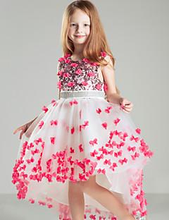 Cvjetni Djevojka haljina - Ball haljina - Sud Vlak - Dragulj