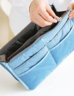 Smikkészlet tárolás Szépségápolási táska / Smikkészlet tárolás Műanyag Egyszínű 28*17*9.5 cm 11.02*6.69*3.74 inchGrey Gradient / Barna /