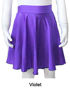 Nylon/Lycra Pull-on Dance Skirts More Colors for Girls and Ladies