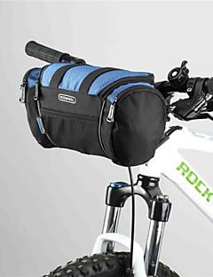 자전거 핸들바 백 / 자전거 배낭 / 사이클 가방 단열 레저 스포츠 / 사이클링 600D 폴리에스터 그레이 / 다크 블루