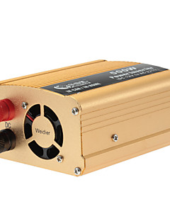 BEAUTY-CAR 500W Car Vehicle DC 12V to AC 220V Power Inverter Adapter Converter with USB Port  (Gold)