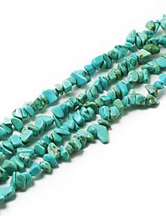 """beadia tirkizni kamen perle 5-8mm nepravilnog oblika DIY labave kuglice stane ogrlica narukvica nakit 34 """"/ str"""