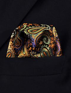 uh1 shlax&πτέρυγα Paisley multi-χρώμα τσέπη πλατεία mens μαντήλια μαντήλι γάμου
