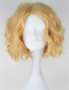 Cosplay Wigs One Piece Cosplay Golden Short Anime Cosplay Wigs 30 CM Heat Resistant Fiber Male