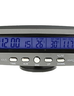 Car Auto Thermometer Voltage with Ice Alert