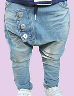 Boy's Fashion Leisure  Button Cowboy Pants