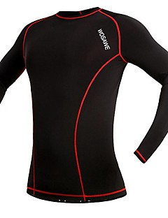 Cycling Jersey Women's / Men's / Unisex Long Sleeve Bike Breathable / Quick Dry / CompressionTracksuit / Underwear / Base Layers /