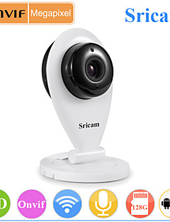 Sricam® Indoor Home Monitor IP Camera 720P Day Night Wireless (Support 128G Micro SD Card)