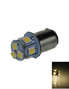 1X  Warm White 1157 BAY15D 8 5050 SMD LED Brake Turn Signal Rear Light Bulb Lamp DC 12V E001