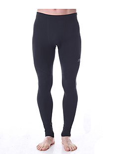 Yoga Pants Underdelar / Byxa / Cykling Tights / Leggings Fyrvägsstretch / Åtsmitande känsla / Zonindelad kompression Naturlig Stretch
