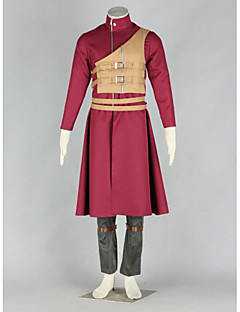 Cosplay Vigour Naruto Sabaku No Gaara Cosplay Costume