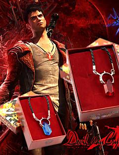 Κοσμήματα Εμπνευσμένη από Devil May Cry Cosplay Anime/ Βιντεοπαιχνίδια Αξεσουάρ για Στολές Ηρώων Κολιέ Κόκκινο / ΜπλεΚράμα / Τεχνητοί