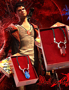 Jewelry Inspirirana Devil May Cry Cosplay Anime / Video Igre Cosplay Pribor Ogrlice Crvena / Plava Alloy / Artificial GemstonesMale /