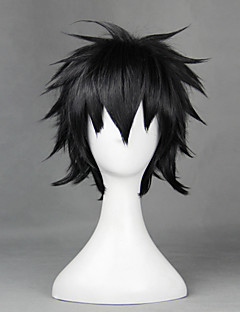 Air Combat Care The Midshipman Instructor Kanata Age Black 35cm Cosplay Wigs