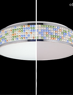 Flush Mount LED Modern/Contemporary Living Room/Bedroom/Dining Room/Study Room/Office Metal
