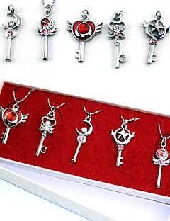 Sailor Moon Series  Make Up Prop Pendants Set Cosplay Accessories (5 Pieces)