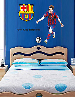 wall stickers Vægoverføringsbilleder, style barcelona messi pvc wall stickers