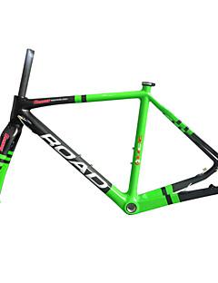 """RB-NT211+FK-NT211 Green Painted Neasty Logo Disc Brake Full Carbon Fiber Frame and Fork 1-1/8""""+1-1/2"""" 51/55/57cm"""