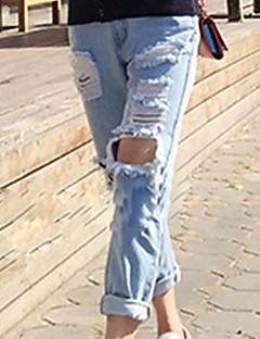 Kvinner Bukse Denim Sexy/Fritid/Søt