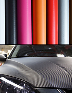 "LORCOO™ 3D Carbon Fiber Vinyl Film Wrap 12""x60"" Sheet(Free Gift Edge Squeegee and Knife)"