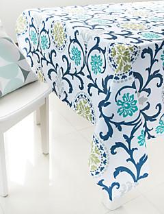 la peinture de fleurs en tissu de table imprimés
