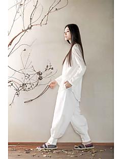 KSUA® Women's Yoga Pants Pants Breathable / Quick Dry / Antistatic White / Blue Yoga / Pilates M / L / XL