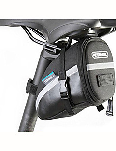 ROSWHEEL® Bike Bag 1LBike Saddle Bag Waterproof / Waterproof Zipper / Shockproof / Wearable Bicycle Bag 600D Polyester Cycle BagCamping &