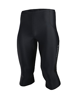 Running 3/4 Tights / Bottoms Men'sBreathable / Moisture Permeability / Quick Dry / Antistatic / Compression / Lightweight Materials /
