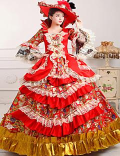 steampunk®18th tallet rokokkostil Marie Antoinette inspirert prom kjole bryllup ballkjole