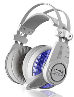 Plextone PC900 אוזניות (רצועת ראש)Forנגד מדיה/ טאבלט מחשבWithעם מיקרופון DJ בקרת עצמה רדיו FM גיימינג מבטל רעש Hi-Fi