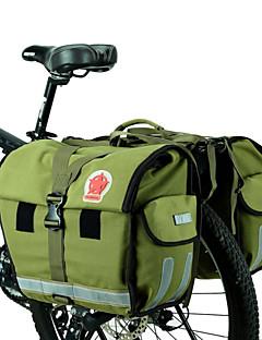 Mala para Bagageiro de Bicicleta/Alforje para Bicicleta (verde claro , Lona / Material á Prova-de-Água)Á Prova-de-Água / Zíper á