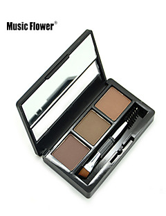 Music Flower® 3 Colors Perfect Waterproof Eyebrow Powder